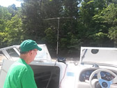 "Island GA042L Big Junction, activated by Jim N4SEC and Terry W4YBV on Thursday, June 15th.  According to Jim N4SEC, ""we operated on 20 and 40 meters with a tripod mounted dipole made from two mobile antennas.  Our radio is a Yaesu FT-857D powered by a separate marine battery. All equipment worked well but the propagation was very poor that day so we only had a few contacts from each island."""